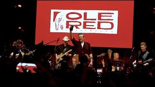 Blake Shelton - Ole Red Gatlinburg Grand Opening BTS
