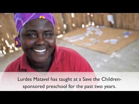 Save the Children-Sponsored Preschool in Mozambique