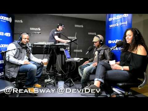 "Obie Trice performs ""Richard"" live on #SwayInTheMorning's in-studio Concert Series"