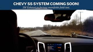 Chevy SS Exhaust Teaser