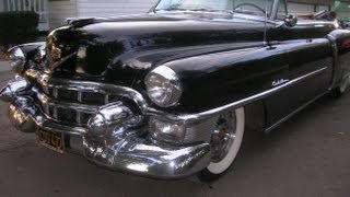 1953 Cadillac Convertible Road Test March 1 2013
