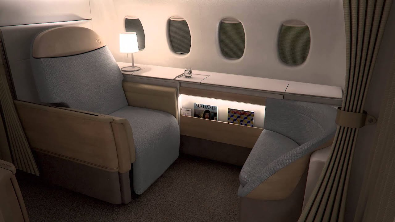 la nouvelle premi re classe d 39 air france une suite haute. Black Bedroom Furniture Sets. Home Design Ideas