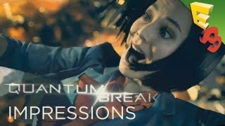Quantum Break TV Show and Game Impressions from E3 2013