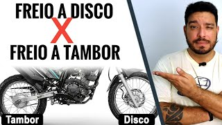 Freio a Disco versus Freio a Tambor