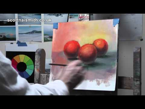 Oil Painting Tutorial: Painting with freedom: Glazing