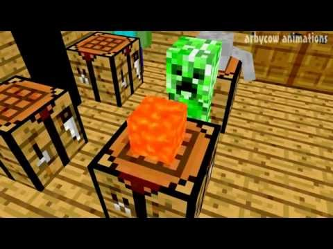 Monster School: Crafting (Minecraft Animation)