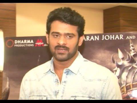 Prabhas Speaks About His Role In Baahubali  @ Baahubali Pressmeet - Mumbai