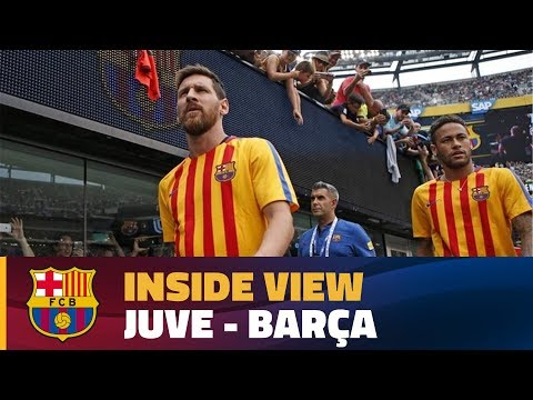 INSIDE TOUR | Behind the scenes: Juve - Barça (ICC 2017) streaming vf