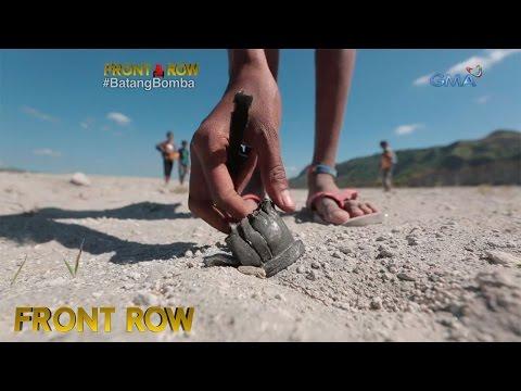 Front Row: Mga batang Aeta sa Tarlac, nangangalakal ng piraso ng mga sumabog na bomba