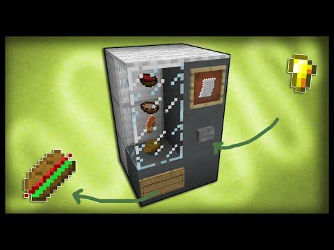 minecraft coffee machine