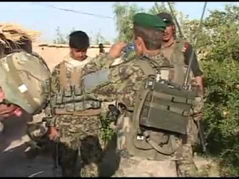 UK-Trained Afghan Soldiers Lead An Operation Into A Taliban Stronghold