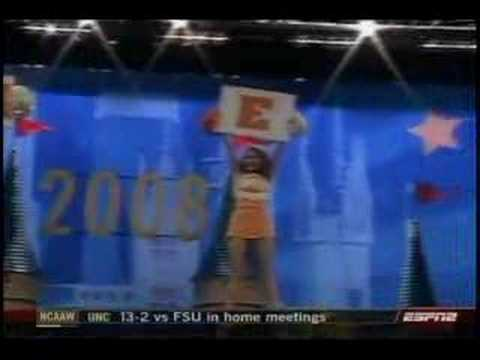 University of Tennessee Cheer 2008 Video