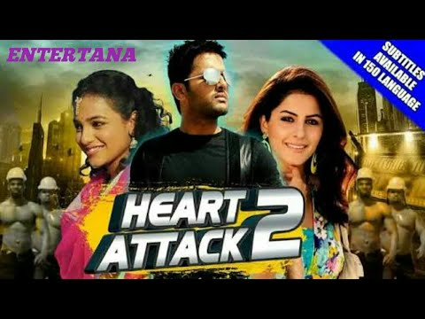 latest south Indian movie in Hindi dubbed 2018,Heart attack 2.entertana