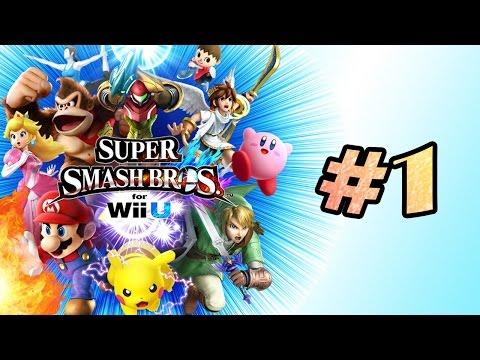 Super Smash Bros. for Wii U -  CA VA CHIER EN HD ! (Partie 1)