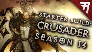 Diablo 3 Season 14 Crusader starter build guide (Patch 2.6.1)