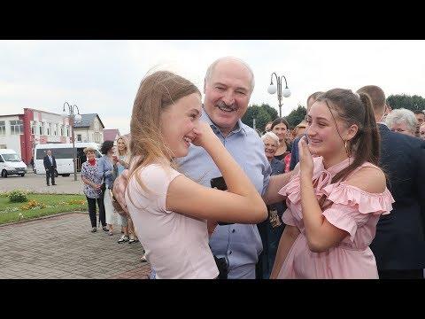 """""""Ожидал худшего"""". Лукашенко пообщался с жителями города Ивье"""