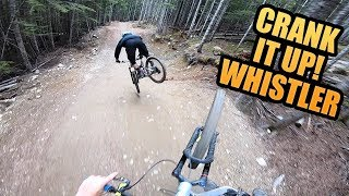 BLUE MTB TRAILS ARE SICK // WHISTLER BIKE PARK // CRANK IT UP