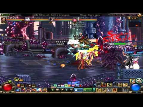 DFO Trombe Power Plant Crimson rose team +Bloodia