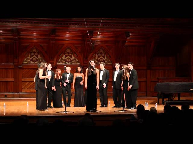 Many the Miles (Sara Bareilles) - Harvard-Radcliffe Veritones