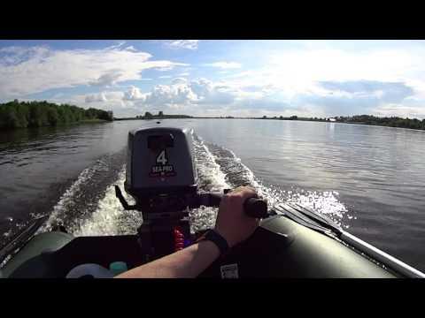 лодка тайга 320 с мотором видео