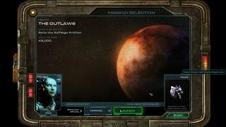 Wings of Liberty - The Outlaws - Starcraft II Walkthrough