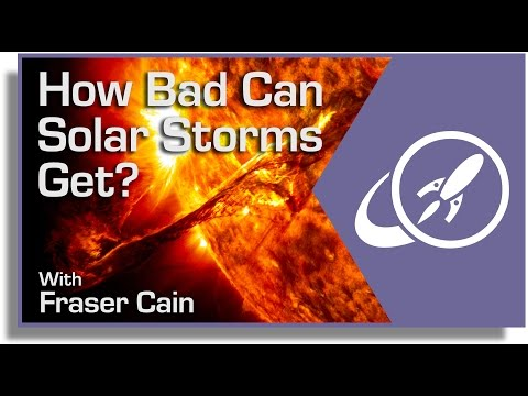How Bad Can Solar Storms Get?