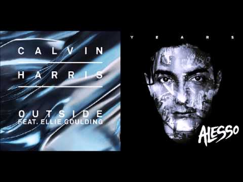 NeXUS: Calvin Harris ft. Ellie Goulding vs Alesso - Years Outside (Mash up)