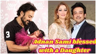 Adnan Sami and wife Roya welcome their first child