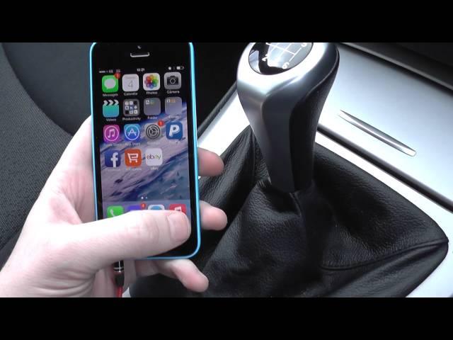 Hook Your iPhone iPod Upto BMW E90 E91 E92 E93 3 series 5 ...