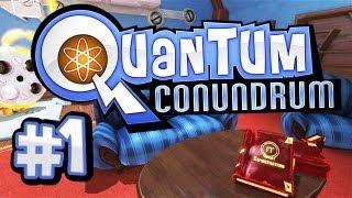 Quantum Conundrum #1 - Let's Play Quantum Conundrum Gameplay German / Deutsch