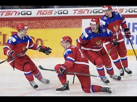Все голы молодежной Сборной России на МЧМ по хоккею 2016