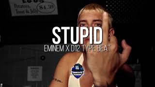 "EMINEM TYPE BEAT ""STUPID"" | SILLY FRANTIC RAP INSTRUMENTAL 2018"