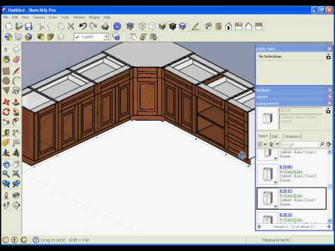Sketchdata Kitchen design software google sketchup