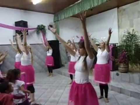 Hosana tempo De Festa - Diante Do Trono Coreografia video