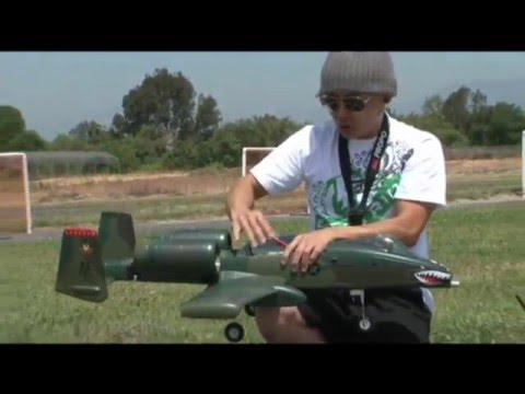 A-10 Warthog TWIN 64mm EDF with RETRACTS! RC RTF Jet  Flight Review! Exclusively at bananahobby.com!