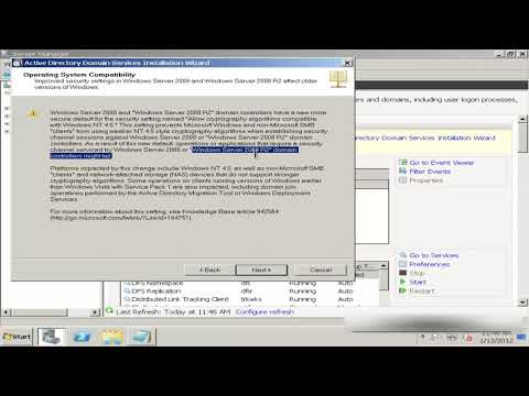 0 How To Install Active Directory On Windows Server 2008 R2 For Your First Domain Controller