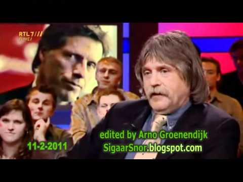 Frenk van der Linden wilt graag weten wat Johan tegen Rik van der Boog heeft