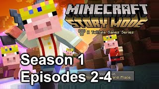 door simulator 2000 (Minecraft Story Mode Season 1 Episodes 2-4)