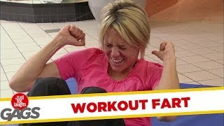 Sit-Up Workout Fart!