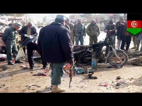 Suicide rickshaw bomber: Pre-election attack leaves 15 dead in Afghanistan