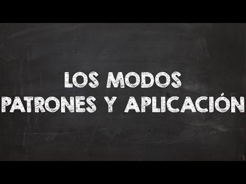 Los Modos Griegos - Patrones y Aplicacion Practica By Rubén Atencia