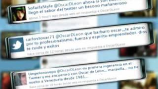 Thumb Oscar D'León canta Sígueme, la salsa de twitter
