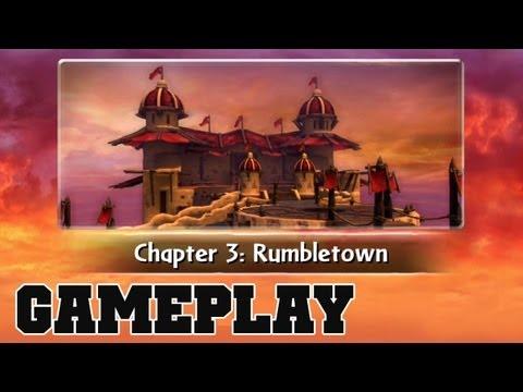 COTV - SKYLANDERS GIANTS Rumbletown Gameplay Commentary 03