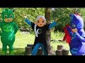 PJ Masks Heroes Catboy vs Luna Girl-Evil Elsa with Paw Patrol...