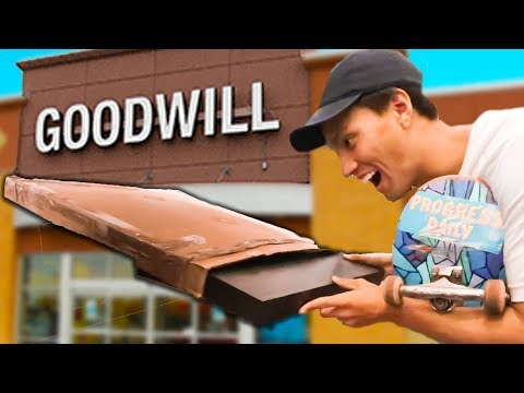 SHOPPING FOR CHEAPEST SKATE RAMP ON EARTH!