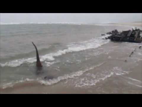 Helen E Shipwreck on Oregon Coast