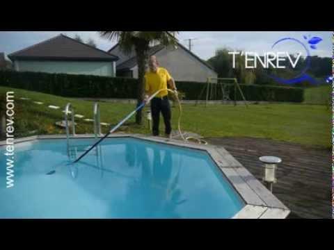 Aspirateur de vase de piscine par siphon limine les for Aspirateur piscine twister 2
