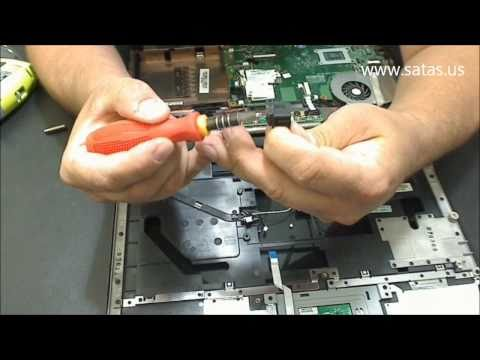 Toshiba Satellite A205 Power Jack Repair. AC Adapter problem fix