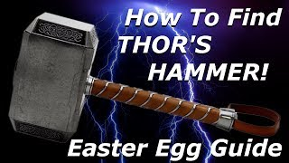 Finding Bigfoot - HOW TO FIND THOR'S HAMMER! Easter Egg Guide!