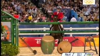 Carlsson vom Dach and Will Simpson 2008 Olympics